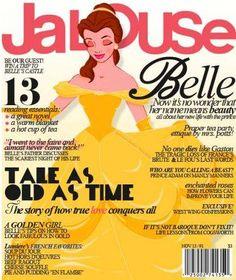 Disney Princess as magazine cover model. Disney Belle, Disney Princess Art, Disney Girls, Disney Love, Disney Magic, Princess Belle, Princess Beauty, Princess Movies, Modern Princess