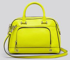 Milly Astor Satchel Cute Handbags, Best Bags, New Bag, Bag Accessories, Yellow Bags, Leather Bags, Satchels, Wallets, Editorial