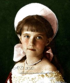 Anastasia Romanov. For a while my family believed that i was her.