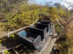 Abandoned amusement park Joyland Lubbock, Texas.--I think many of these should be leveled--this is a death trap
