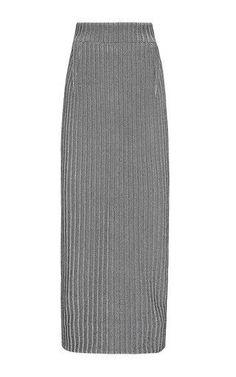 Arachnid longline skirt by MATICEVSKI for Preorder on Moda Operandi