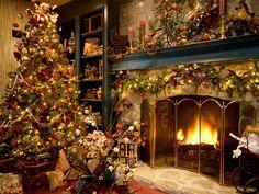 xmas living room!
