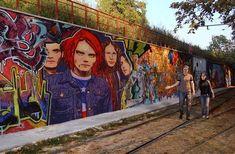 Awesome MCR street art.