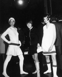 Mary Quant & Models, 1960s