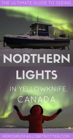 The #Aurora Borealis is one of nature's most fascinating phenomenons. Located in Canada's Northwest Territories, #Yellowknife is the perfect place to watch the Northern Lights!