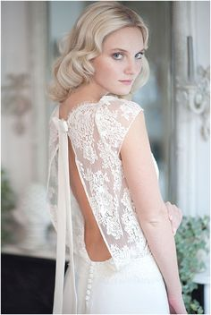 Fabienne Alagama wedding dresses, see more http://www.frenchweddingstyle.com/fabienne-alagama-wedding-dresses-2014/