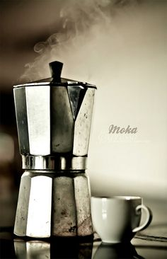 Moka pot spiced coffee...