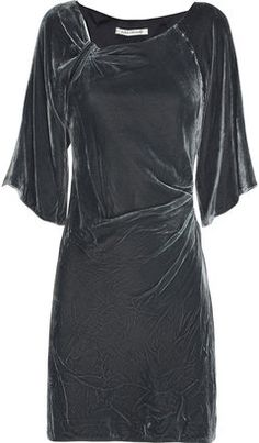 ShopStyle: Diane von Furstenberg Chinta velvet mini dress