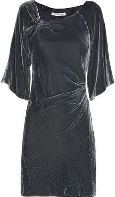 ShopStyle: Diane von Furstenberg Chinta velvet mini dress