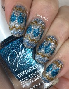 ehmkay nails: Chanukah Ugly Sweater Nail Art