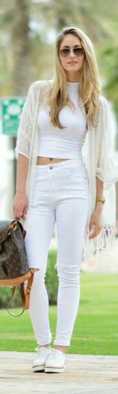 All White Everything / The Vogue Word