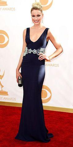 Katrina Bowden at the 2013 Emmys #fashion #redcarpet #celebrity