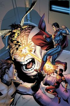 DC Comics has provided Newsarama with two new variants covers to Superman #40, which has been moved to April 29 on the publisher's schedule.