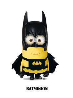 Just Simply Awesome Batman Meme, Batman Quotes, I Am Batman, Despicable Minions, Cute Minions, My Minion, Happy New Year Minions, Minion Superhero, Minion Characters