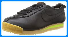 Nike Womens Cortez 72 Running Trainers 847126 Sneakers Shoes US 7 black balsa gum yellow 001 >>> Check this awesome product by going to the link at the image. (This is an affiliate link) Running Trainers, Running Shoes, Nike Shoes, Shoes Sneakers, Baskets Nike, Yellow Leather, Nike Cortez, Partner, Athletic Shoes