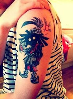 SkullKid tattoo - The Legend of Zelda Majora's Mask - http://www.pinterest.com/zeldanet/zelda-way-of-life/