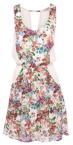 :FLORAL PRINT DRESS: PB2013