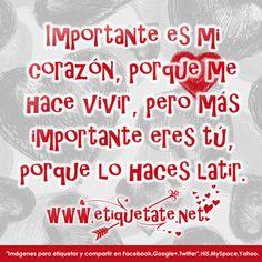 mensajes de amor | Imágenes con Mensajes de Amor | Etiquetate.net