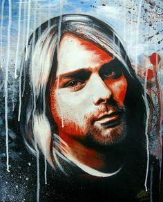 Beautiful art of Kurt Kurt Cobain Art, Free Invitation Cards, Colour Schemes, New Image, New Pictures, Artsy, Nirvana, Fictional Characters, Instagram