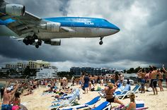 St Marteen  If this is real I really do not think i would like to be on this beach.