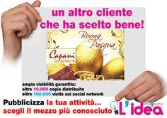 grafica da noi realizzata per Capani -Rossano- CS