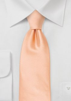 Moulins Mikrofaser XXL-Krawatte in apricot