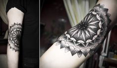 I'd like to get something kinda similar to this on my elbow.