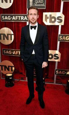 Ryan Gosling in Gucci