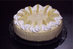 Lemon Cheesecake from Bread Winners Cafe and Bakery in Dallas, TX