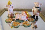 Danbury Mint Piggies - £8 - Listed by Sell it socially         has been published on Sell it Socially