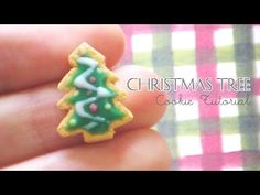 DIY Christmas Tree Cookie Polymer Clay Tutorial