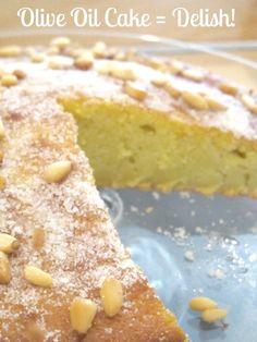 Rebecca's Recipes: Olive Oil Cake