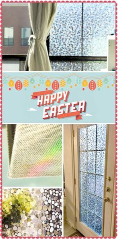 @rabbitgooing Rabbitgoo 23.6in. by 78.7in. (60 by 200Cm) Premium No-glue 3d Static Decorative Privacy Window Films