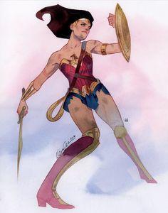 Wonder Woman by Kevin Wada *