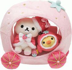 Kawaii Toys, iheartrilakkuma: Korilakkuma Strawberry-Bunny...