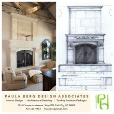 Paula Berg Design Associates / http://www.paulabergdesign.com Details matter! Example of our custom design vision from concept to installation in a client's master bedroom… #interiordesign #homedecor #architecture #style #fireplace #architecture #design #homedecor #inspiration