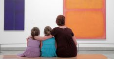 Rothko believed that children were born with total creative freedom that should be cultivated by adults rather than squashed with academic training.