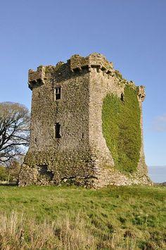 Shrule Castle, County Mayo, Ireland
