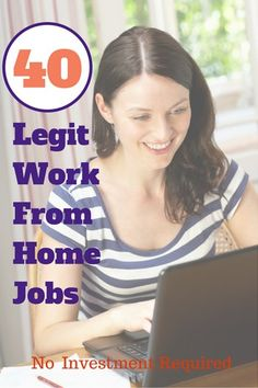 Looking for real and legit work from home opportunities that require no investment? Here are 50 companies that hire people to work from home.