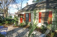 tiny homes georgia | ... homeaway 0014 600x400 Tiny Cottage Vacation Rental in Savannah Georgia