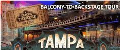 """Tampa Theatre, built in 1926 as one of America's most elaborate """"movie palaces"""". The Tampa Theatre today is a fiercely protected and generously supported landmark."""