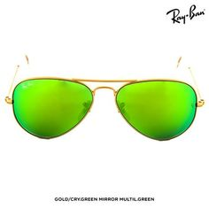 Ray-Ban Unisex Large Metal Aviator Sunglasses - Assorted Styles at 42% Savings off Retail!