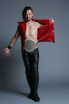 Shinsuke Nakamura. I don't know what it is about him, but I just can't get enough of him on my tv