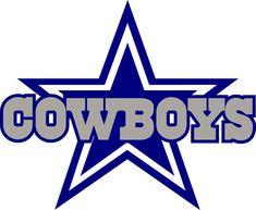 DALLAS COWBOYS STAR Logo * Window Wall STICKER * Vinyl Car DECAL  ~  ANY COLOR