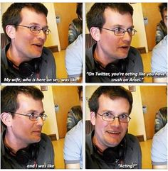 Something John this way comes. Oh John Green, how I do adore you.