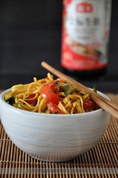 Due bionde in cucina: Noodles all'uovo con verdure
