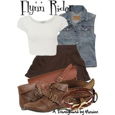 """""""Disneybounding Fynn Rider"""" by callmemasian on Polyvore! check out her fashion blog at http://styledbymasian.tumblr.com!"""