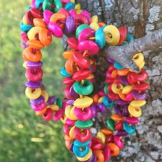 Multicolor Wooden Be