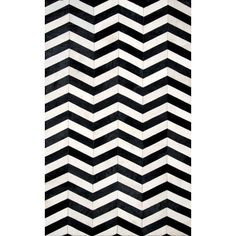 Found it at AllModern - Arrowpoint Cowhide Hand -Tufted Black/White Area Rug