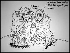 by chaltimbanque < Hiccup and Astrid. I love the way he calls her milady. It's so sweet. :)